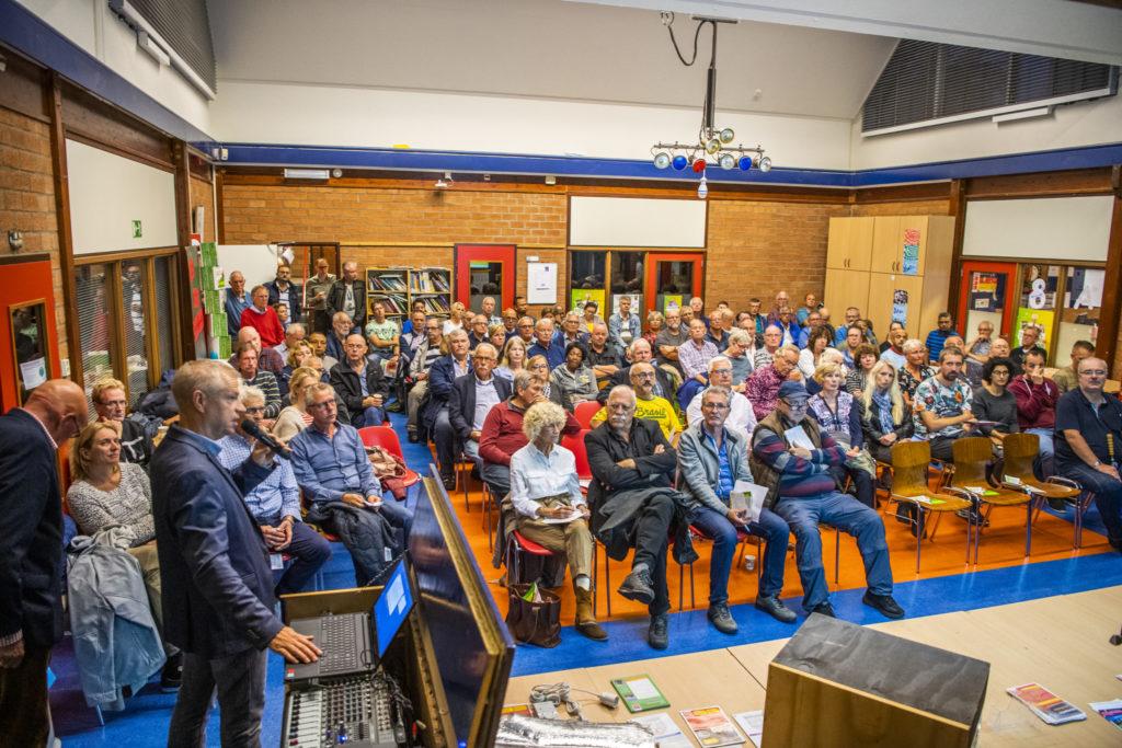 Afbeelding van een bijeenkomst